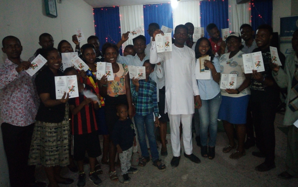 NWAV Lagos Chapter: awareness raising event with the youth association Mind-Shifters Team